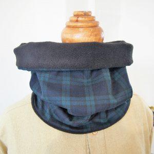 Snood tour de cou hommes - Atelier du Bourget - Artisanat textile français