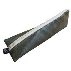 Etui brosse à dents homme simili cuir - L'Atelier du Bourget - Artisanat textile français